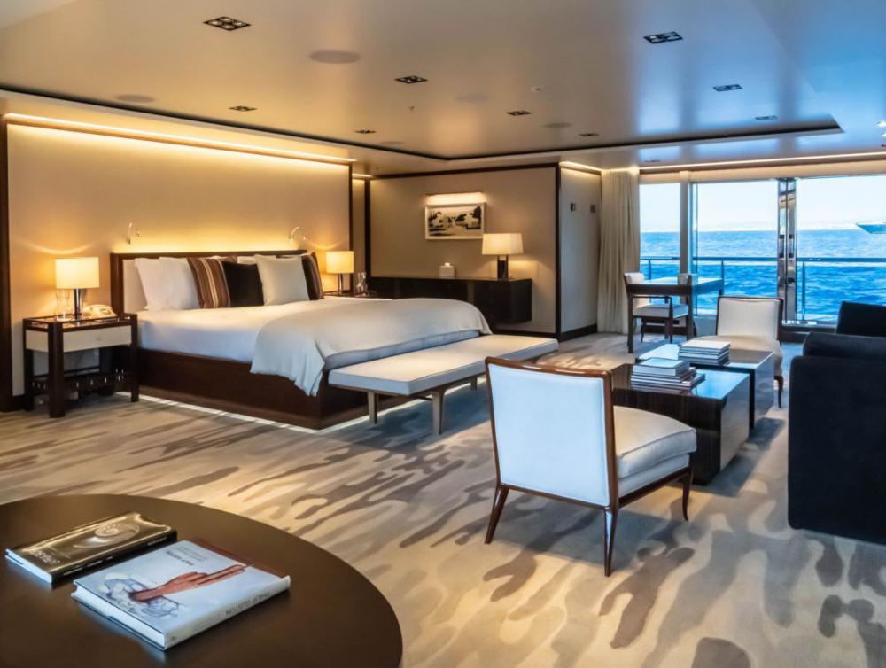 PLANET NINE - Luxury Motor Yacht For Charter - 1 x Master Suite on main deck - Img 1 | C&N