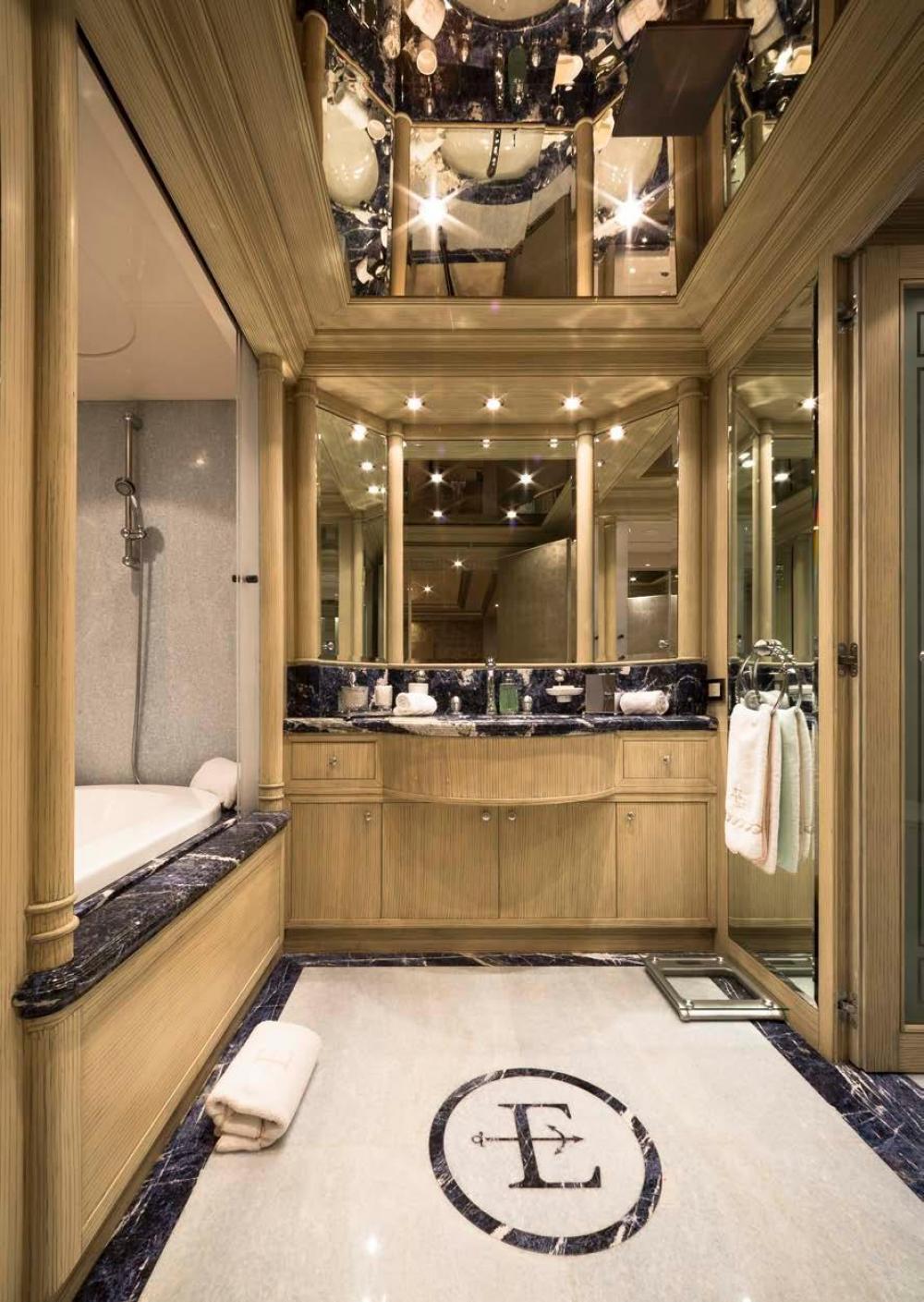 EMERALD - Luxury Motor Yacht For Charter - Full Beam Master Suite - Img 3   C&N