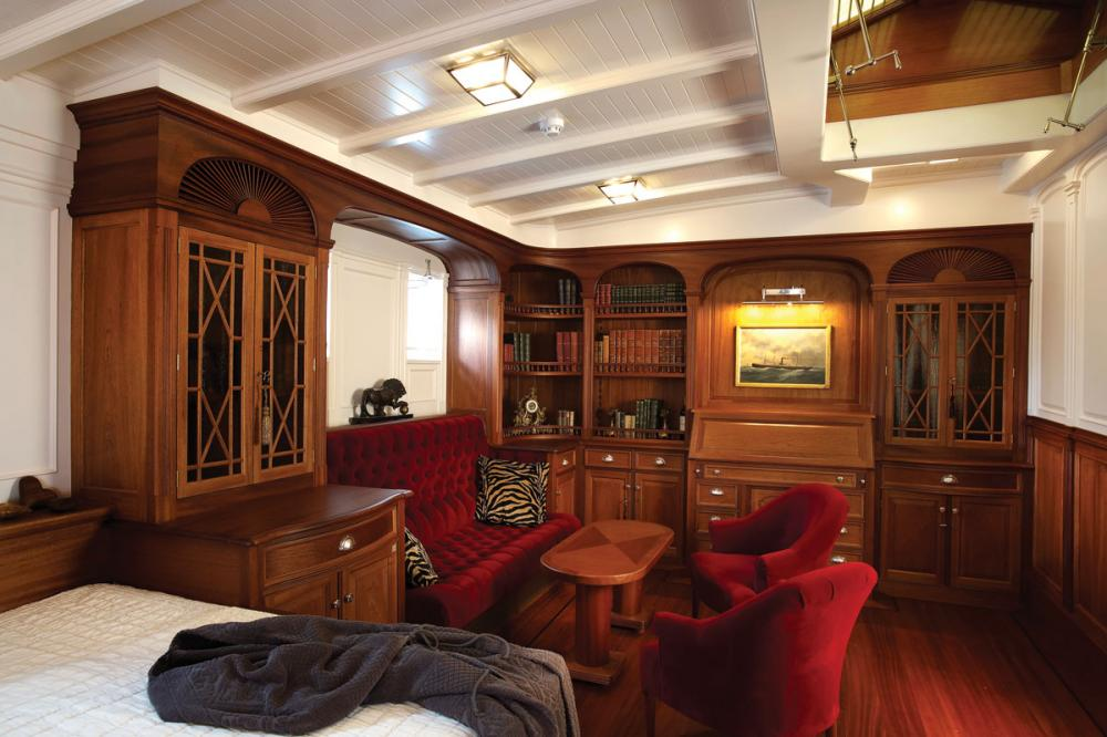 ATLANTIC - Luxury Sailing Yacht For Charter - 3 Double Staterooms all with ensuite  - Img 4 | C&N