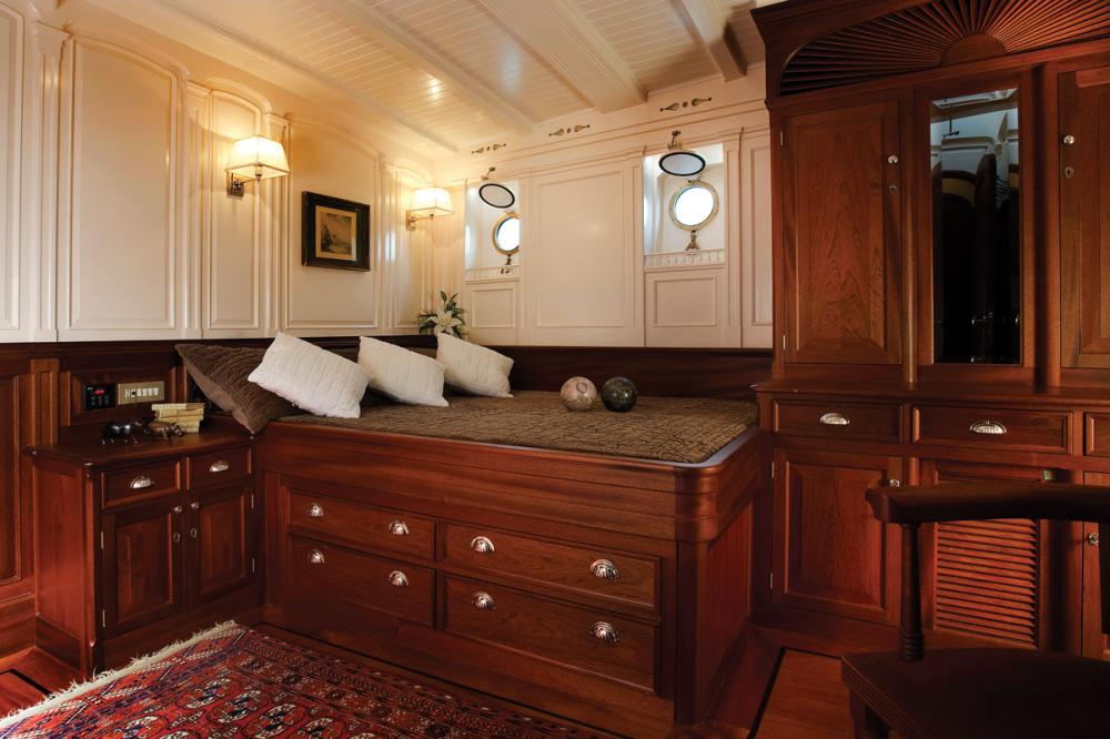 ATLANTIC - Luxury Sailing Yacht For Charter - 3 Double Staterooms all with ensuite  - Img 2 | C&N