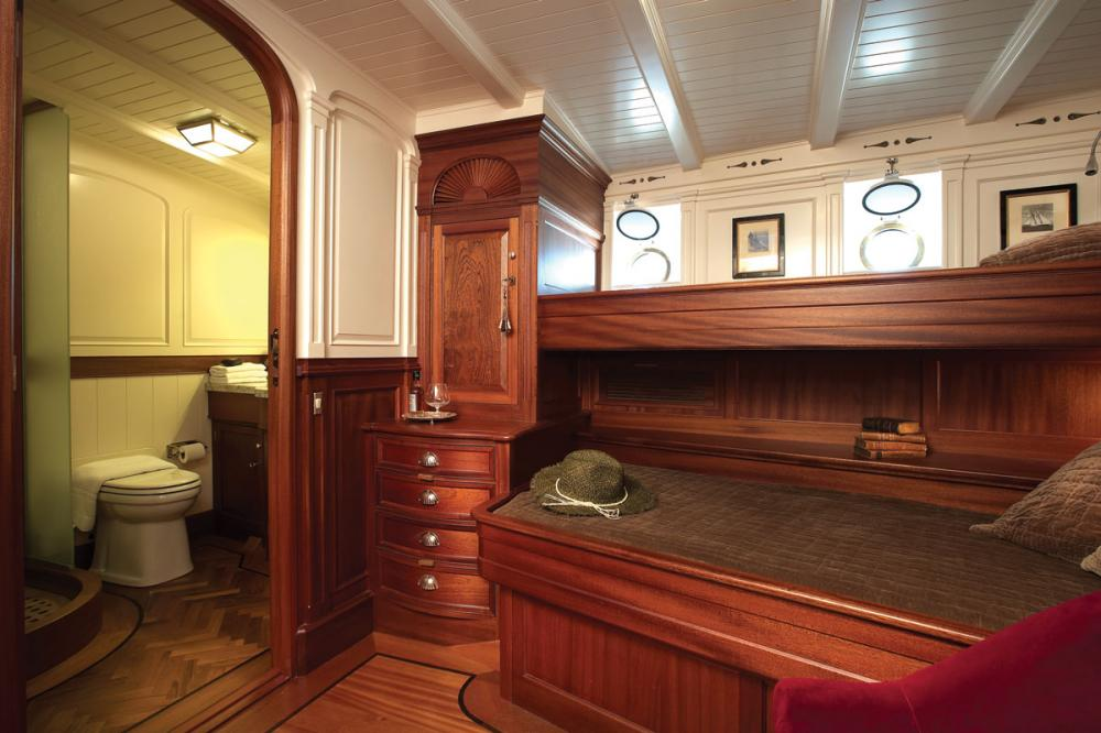 ATLANTIC - Luxury Sailing Yacht For Charter - 3 Twin Cabins all with ensuite  - Img 2 | C&N