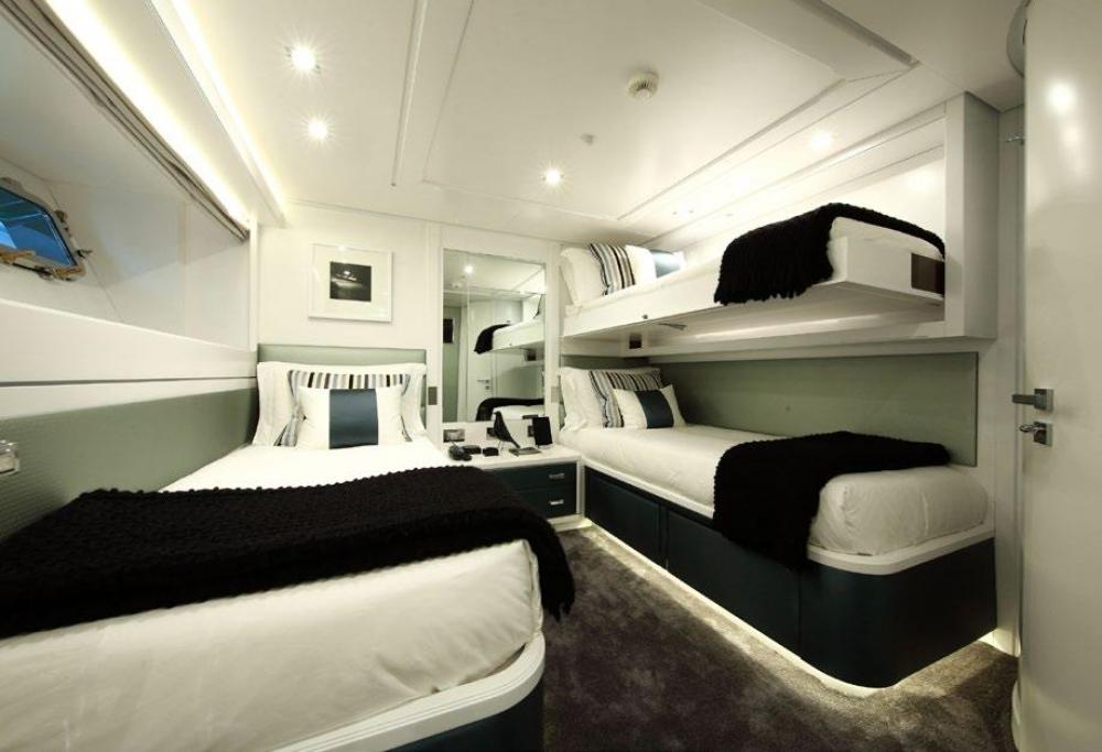SUD - Luxury Motor Yacht For Charter - Two Twin Cabins on the lower deck - Img 1 | C&N