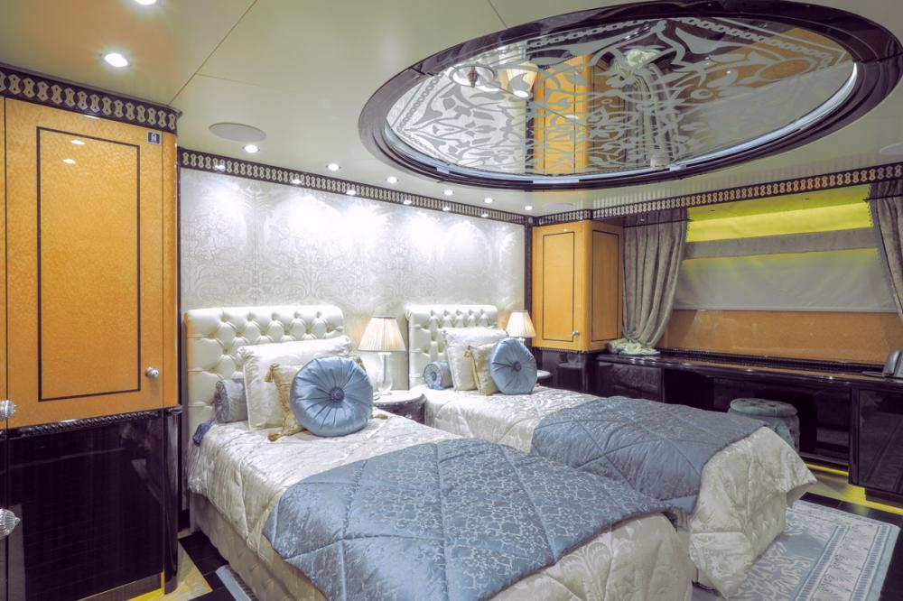 ELEMENTS - Luxury Motor Yacht For Sale - 5 Twin Cabins on main deck forward - Img 3 | C&N