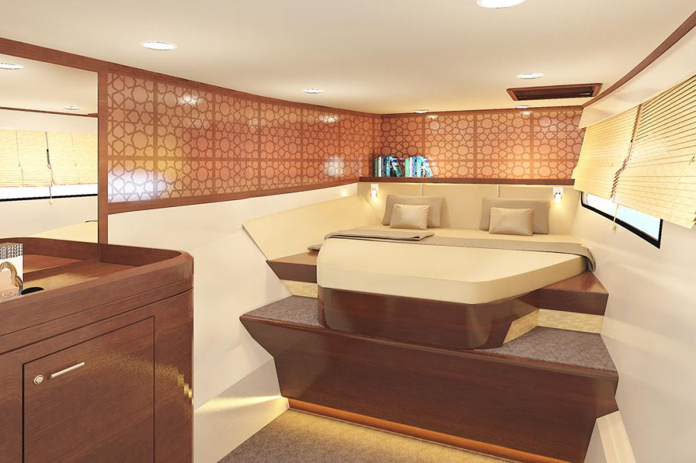 H70 - Luxury Motor Yacht For Sale - MASTER CABIN - Img 1 | C&N
