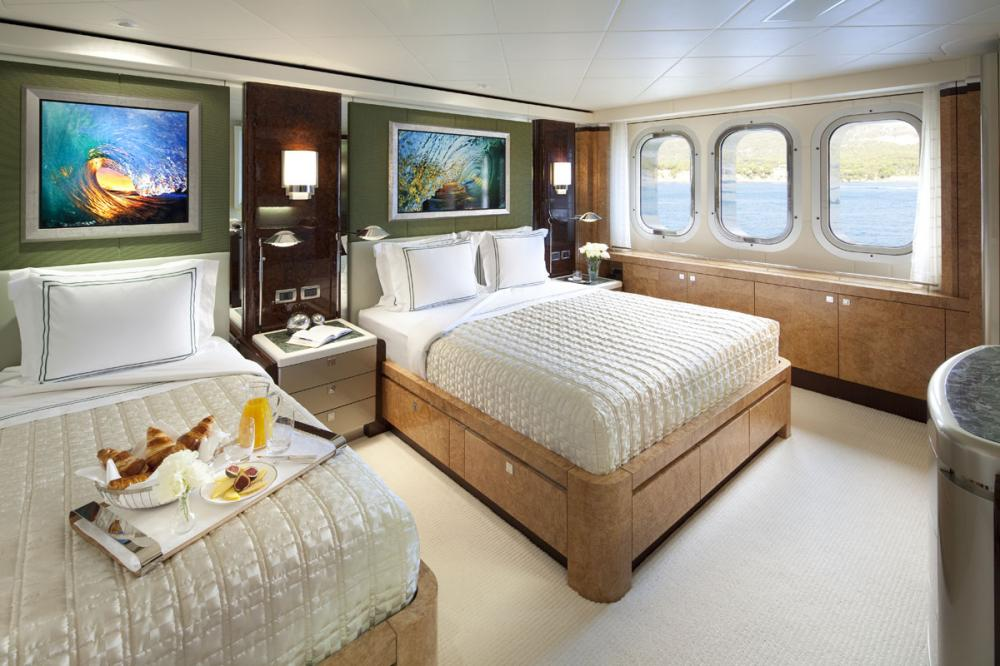 SYCARA V - Luxury Motor Yacht For Charter - 2 TWIN CABINS   1 SINGLE CABIN - Img 3   C&N