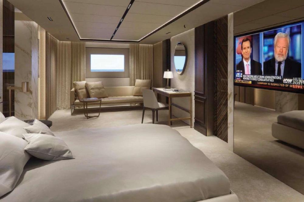 GECO - Luxury Motor Yacht For Charter - VIP Cabin - Img 1 | C&N