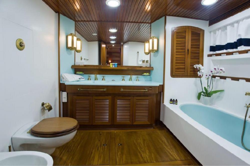 WIND OF FORTUNE - Luxury Motor Yacht For Charter - VIP cabin - Img 3 | C&N