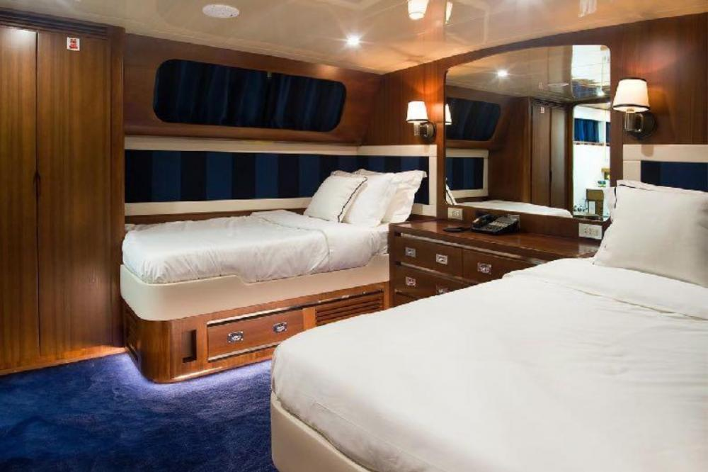 WIND OF FORTUNE - Luxury Motor Yacht For Charter - Five Twin cabins - Img 1 | C&N