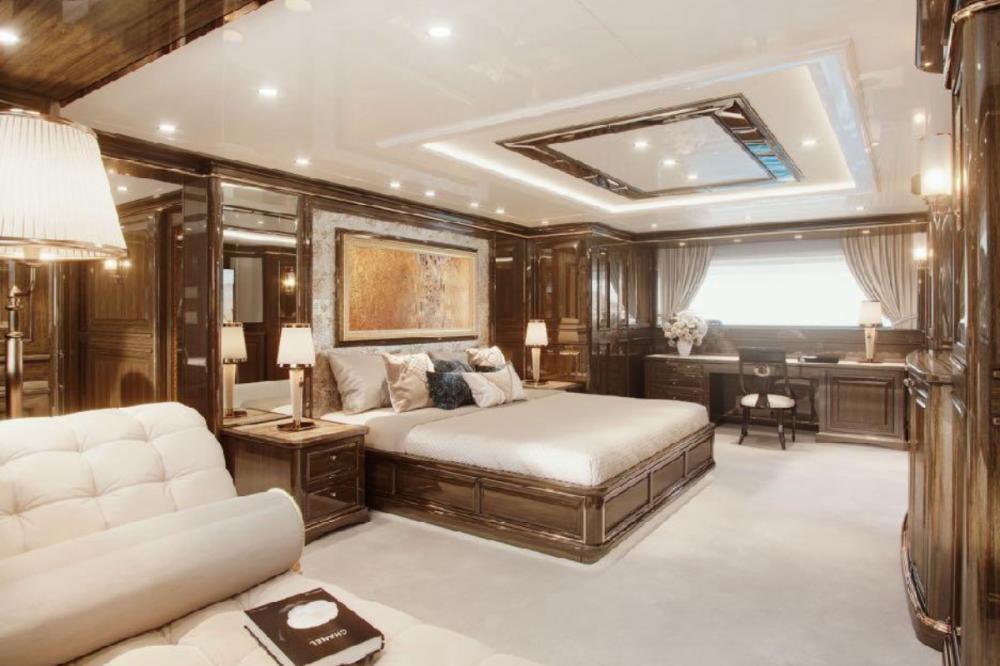 LADY LENA - Luxury Motor Yacht For Charter - Full beam Master on the main deck - Img 1 | C&N