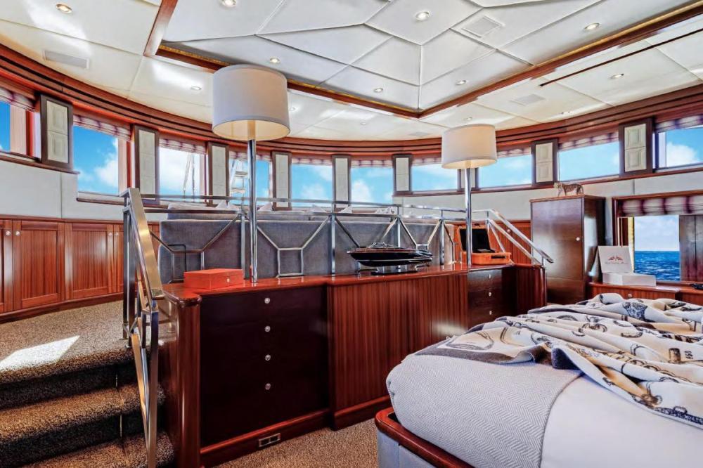OCEAN CLUB - Luxury Motor Yacht For Charter - Split-level Master Stateroom - Img 1 | C&N