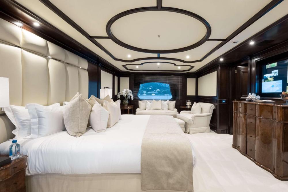 ELENI - Luxury Motor Yacht For Charter - Master stateroom - Img 1   C&N