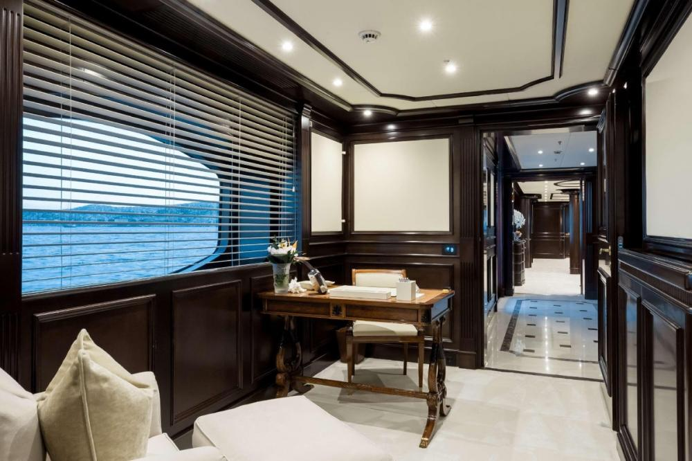 ELENI - Luxury Motor Yacht For Charter - Master stateroom - Img 2   C&N