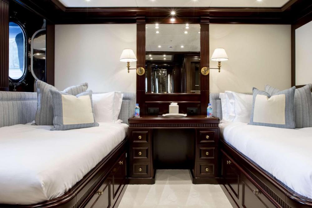 ELENI - Luxury Motor Yacht For Charter - One Twin Cabin - Img 1   C&N