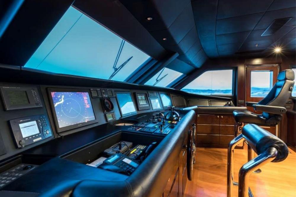 ELENI - Luxury Motor Yacht For Charter - Bridge - Img 1   C&N