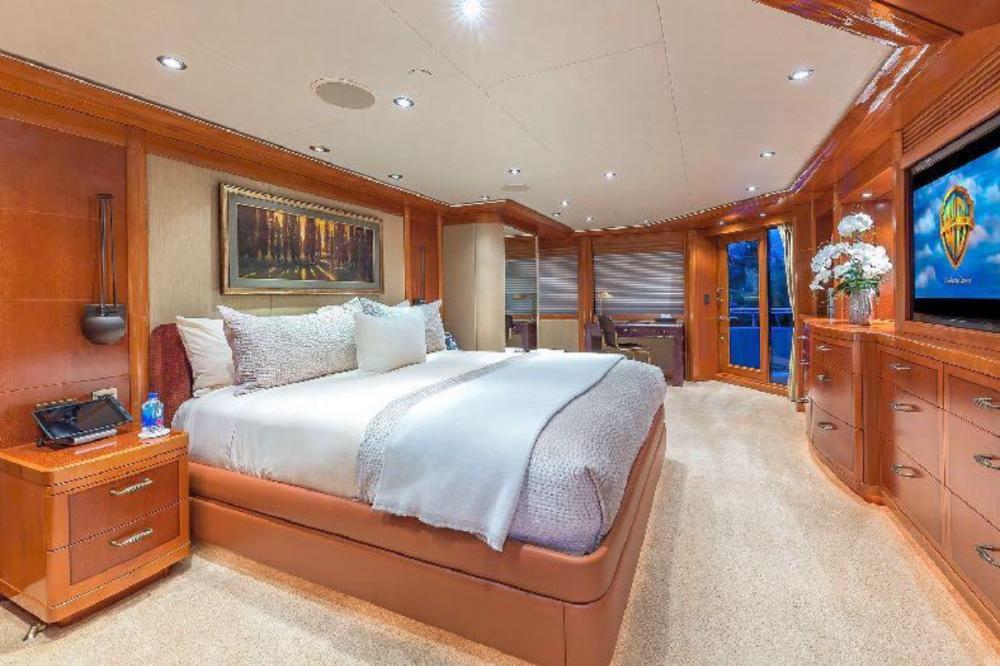 HOSPITALITY - Luxury Motor Yacht For Charter - Master Stateroom - Img 1 | C&N