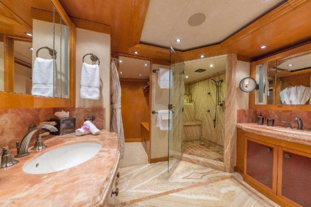 HOSPITALITY - Luxury Motor Yacht For Charter - Master Stateroom - Img 3 | C&N