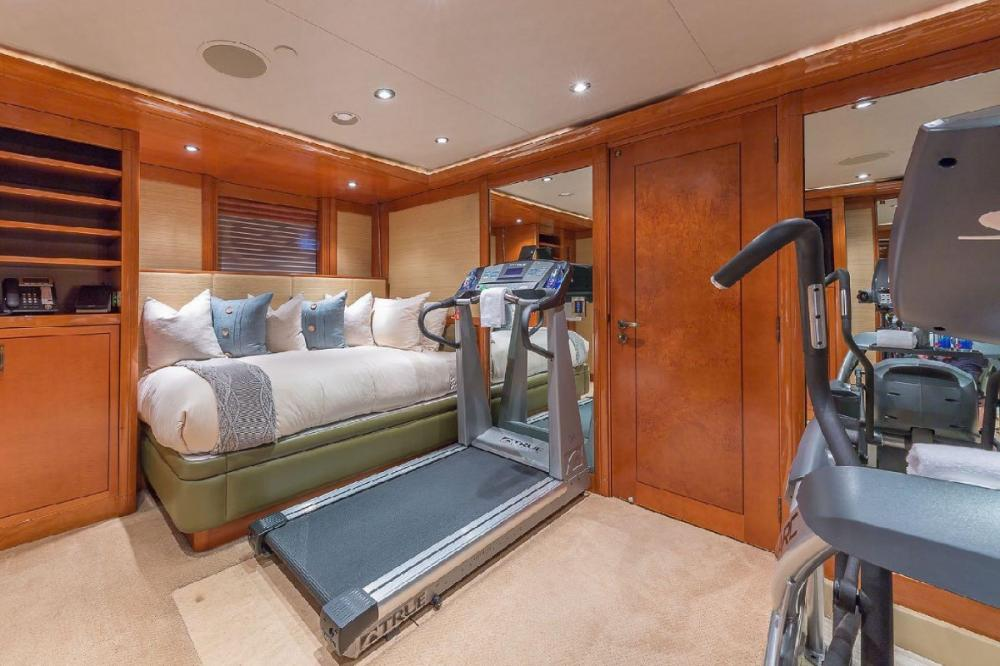 HOSPITALITY - Luxury Motor Yacht For Charter - Gym that can convert into single and pullman - Img 1 | C&N