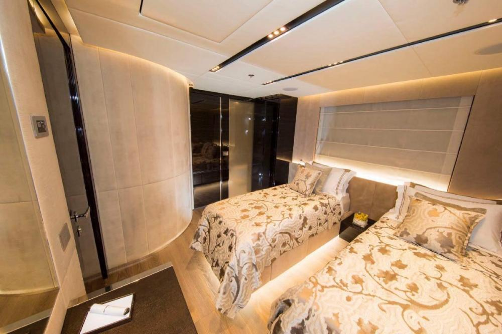 OURANOS CF50 - Luxury Motor Yacht For Charter - Two Twin Convertible cabins - Img 1 | C&N