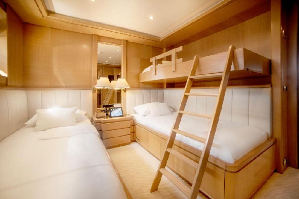 OASIS - Luxury Motor Yacht For Charter - Two Twin Cabins - Img 1 | C&N