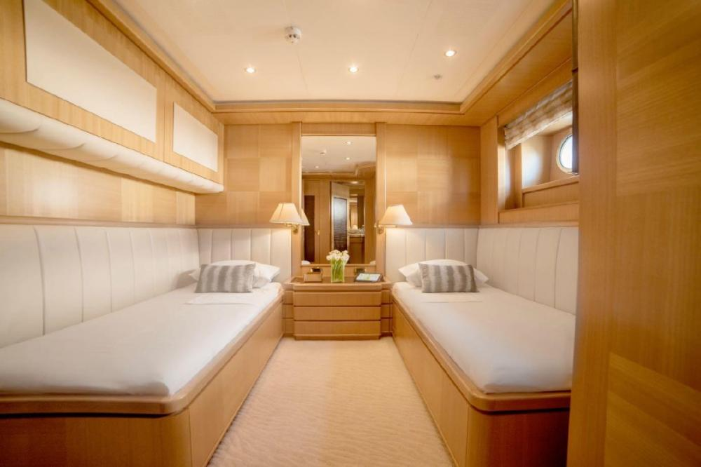 OASIS - Luxury Motor Yacht For Charter - Two Twin Cabins - Img 2 | C&N