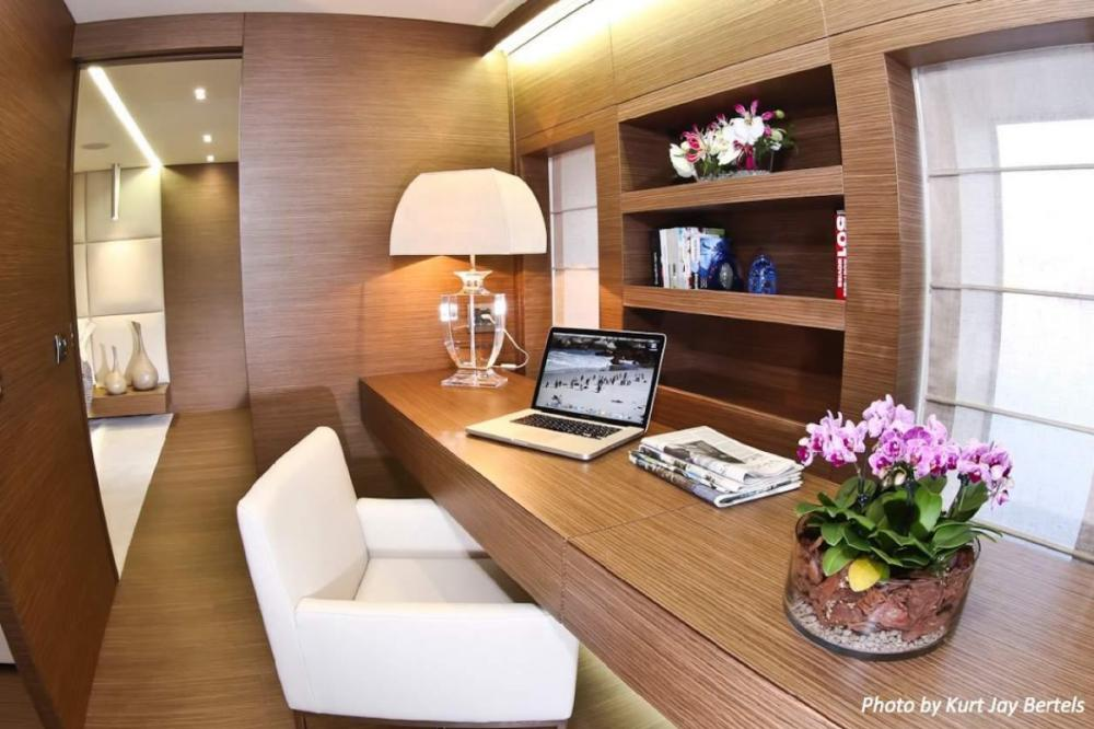 IPANEMAS - Luxury Motor Yacht For Charter - 1 Master full beam width cabin with dressing room, Owner's office, Gym and bathroom ensuite - Img 2   C&N