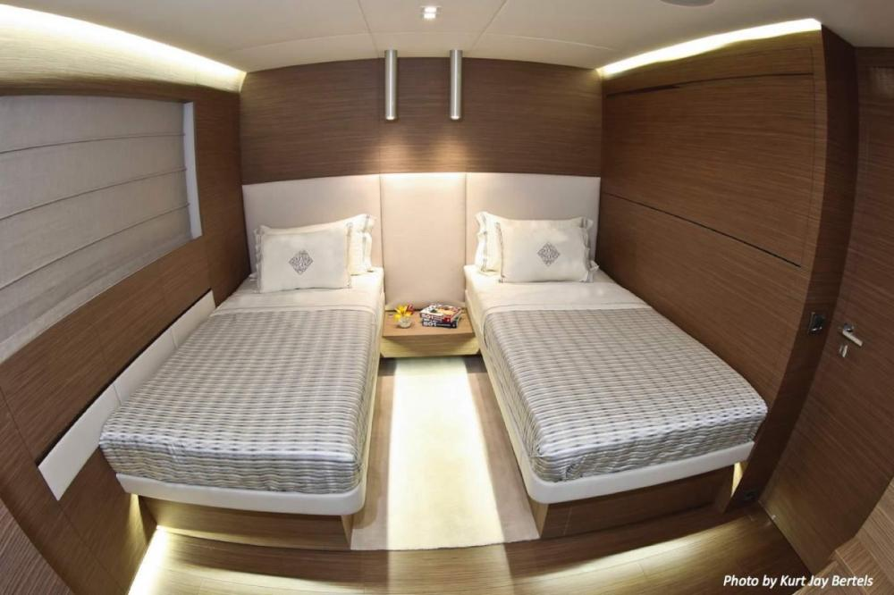 IPANEMAS - Luxury Motor Yacht For Charter - 2 Guest twin cabins with bathrooms ensuite - Img 1   C&N