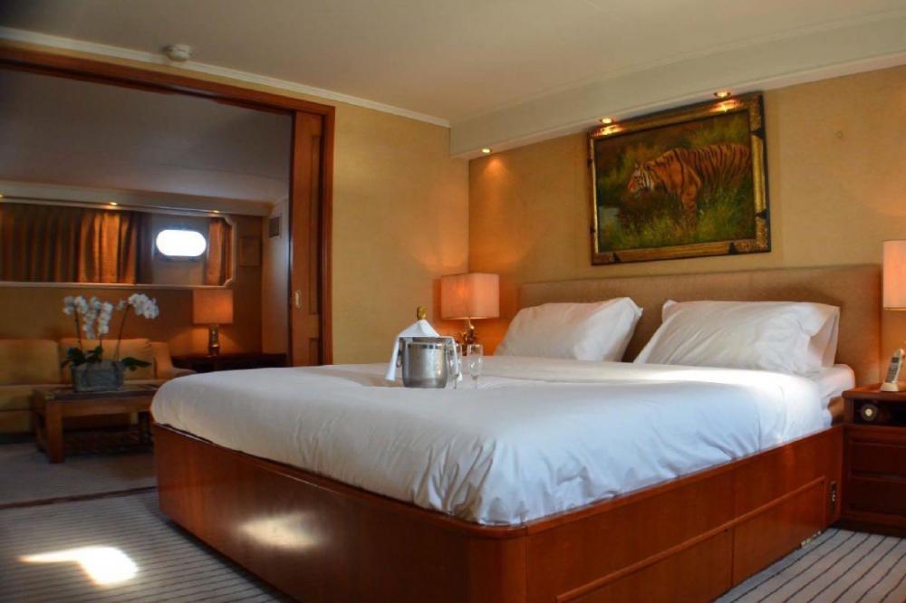 SECRET LIFE - Luxury Motor Yacht For Charter - Master Suite - Img 1   C&N