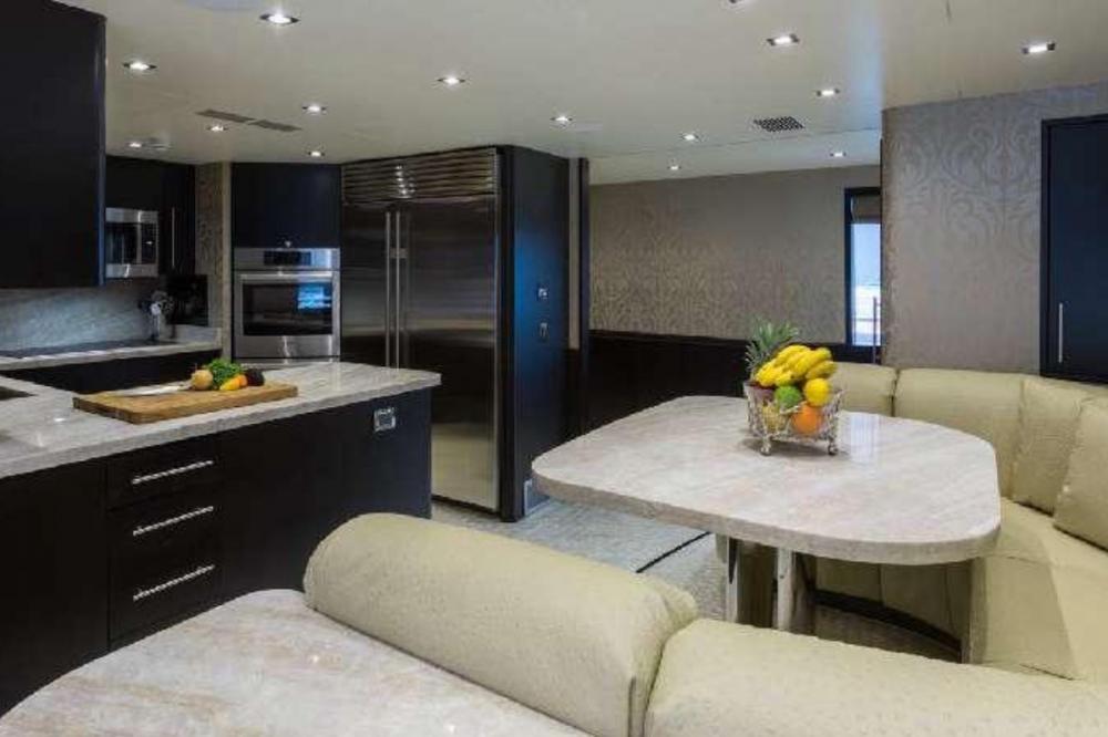 TANZANITE - Luxury Motor Yacht For Charter - Galley - Img 2 | C&N