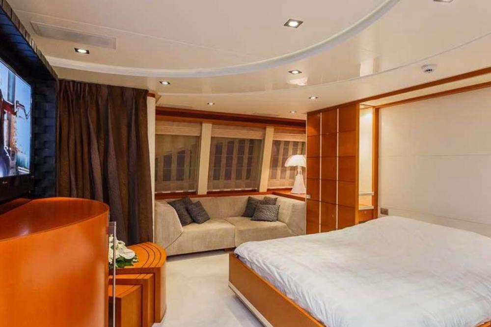 AGRAM - Luxury Motor Yacht For Charter - Two double staterooms - Img 2 | C&N