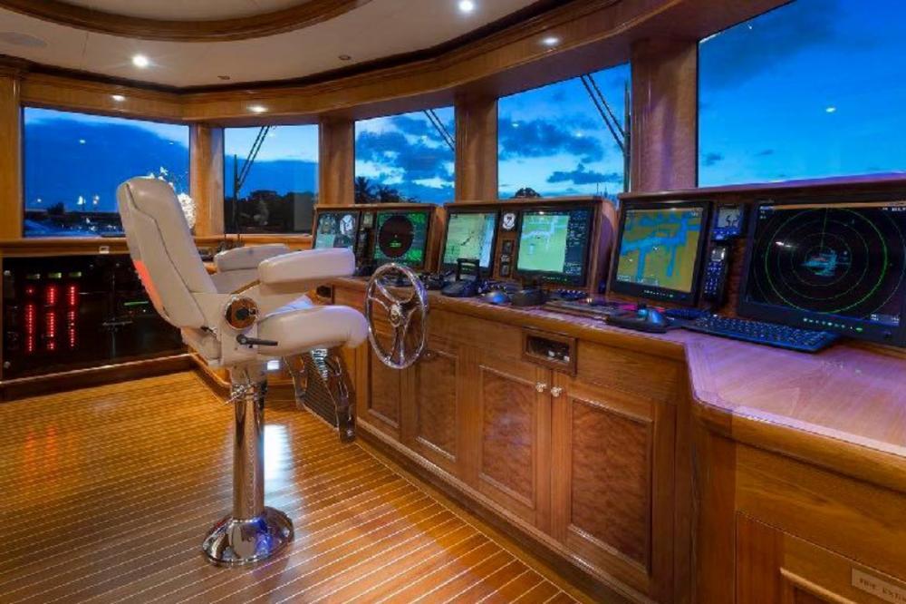 FAR FROM IT - Luxury Motor Yacht For Charter - Bridge - Img 1 | C&N