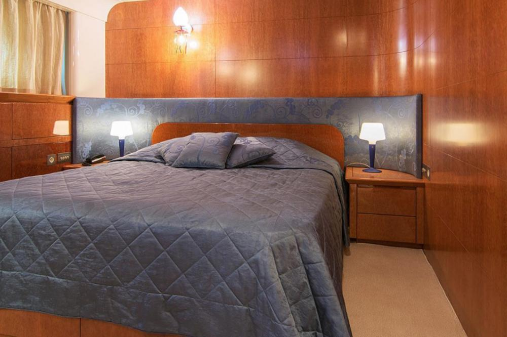 CONDOR A - Luxury Motor Yacht For Charter - Full beam master suite - Img 1 | C&N