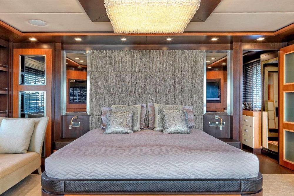 SERENITY II - Luxury Motor Yacht For Charter - Master Cabin - Img 1 | C&N