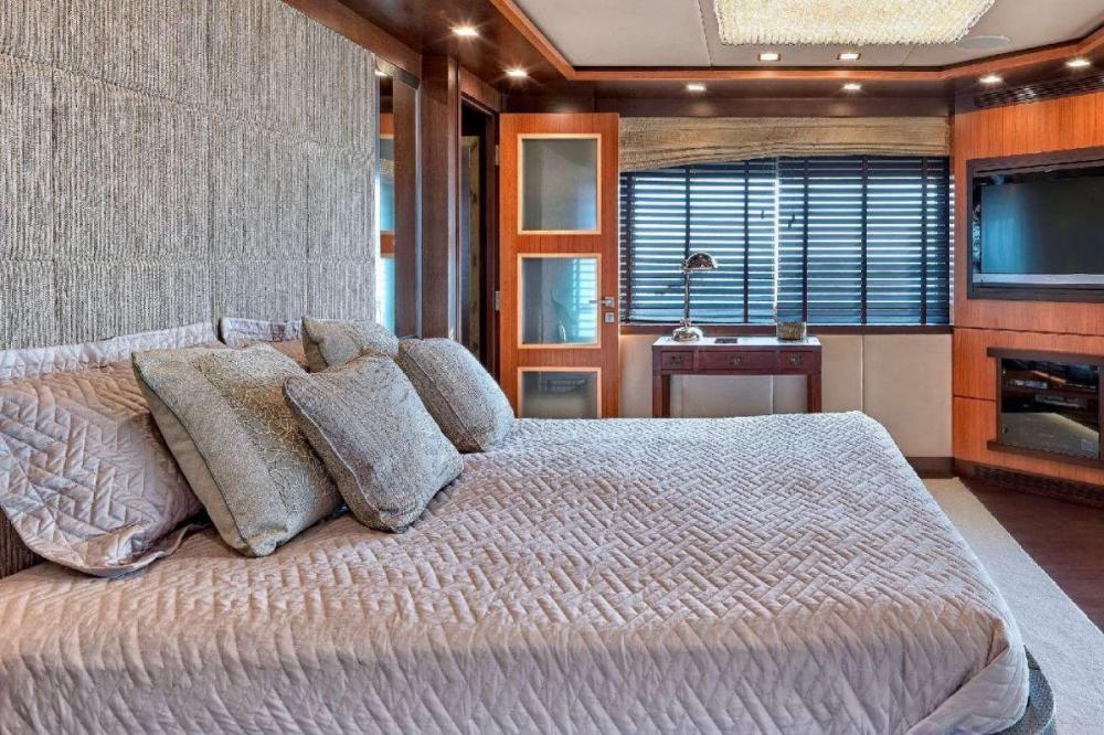 SERENITY II - Luxury Motor Yacht For Charter - Master Cabin - Img 2 | C&N