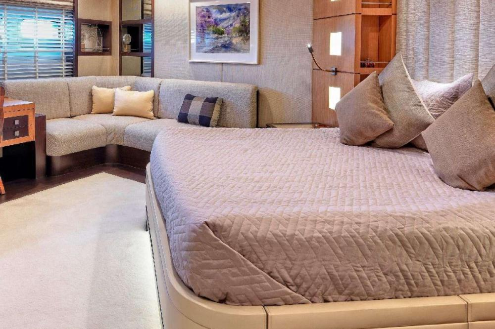 SERENITY II - Luxury Motor Yacht For Charter - Two Queen Cabins - Img 2 | C&N