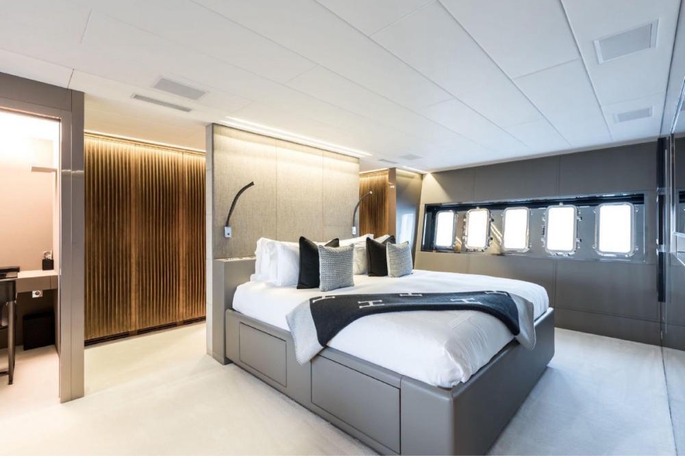 BEACHOUSE - Luxury Motor Yacht For Charter - Master Cabin - Img 1 | C&N