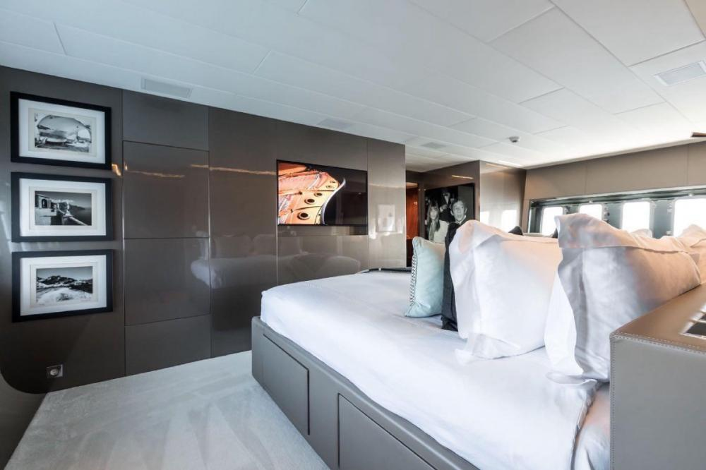 BEACHOUSE - Luxury Motor Yacht For Charter - Master Cabin - Img 2 | C&N