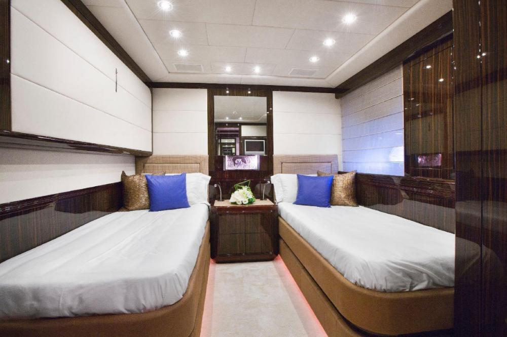 MAC TOO - Luxury Motor Yacht For Charter - Two Twin Cabins - Img 1   C&N