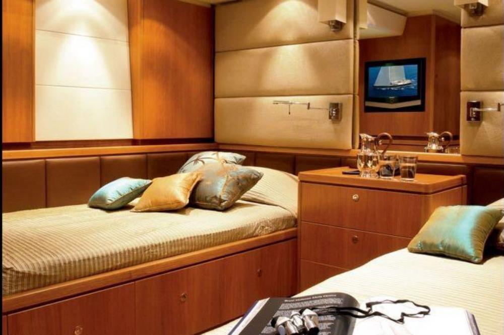 ARISTARCHOS - Luxury Sailing Yacht For Charter - Twin with 2 single beds - Img 1 | C&N