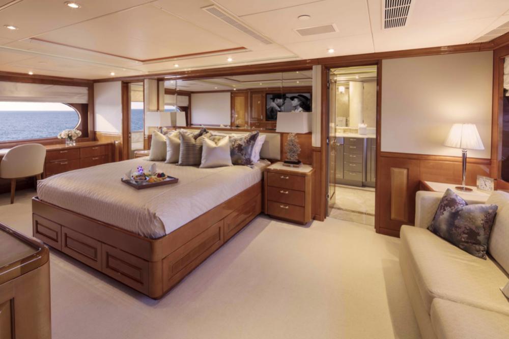 MILESTONE - Luxury Motor Yacht For Charter - Master Suite - Img 2   C&N