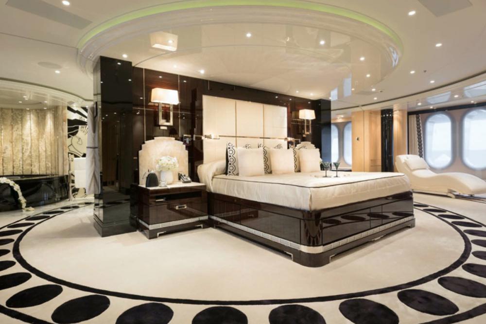 PHOENIX II - Luxury Motor Yacht For Charter - Master's Full Beam Suite - Img 1 | C&N