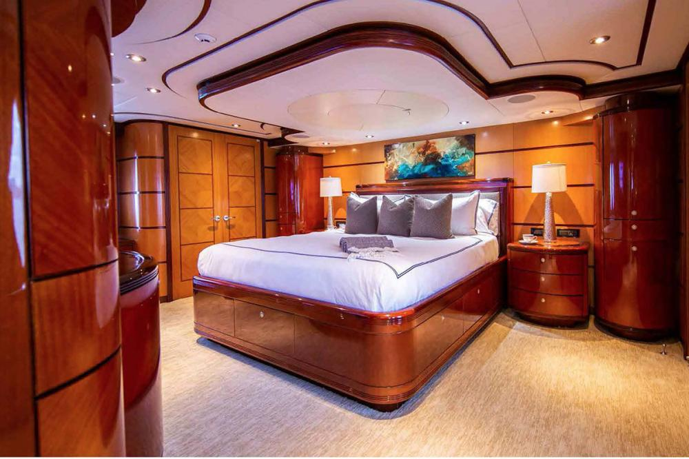 JUST ENOUGH - Luxury Motor Yacht For Charter - Master Suite - Img 1 | C&N