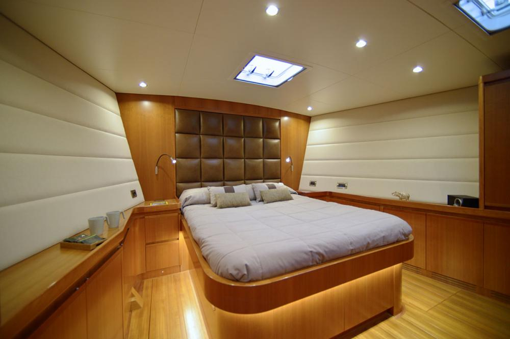 ALYSEE - Luxury Sailing Yacht For Sale - Master Cabin - Img 1 | C&N