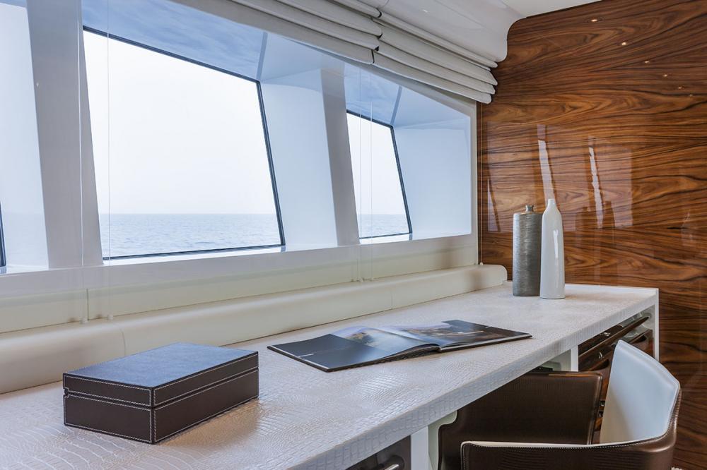 VULCAN 46M - Luxury Motor Yacht For Sale - Owner's Cabin - Img 3 | C&N