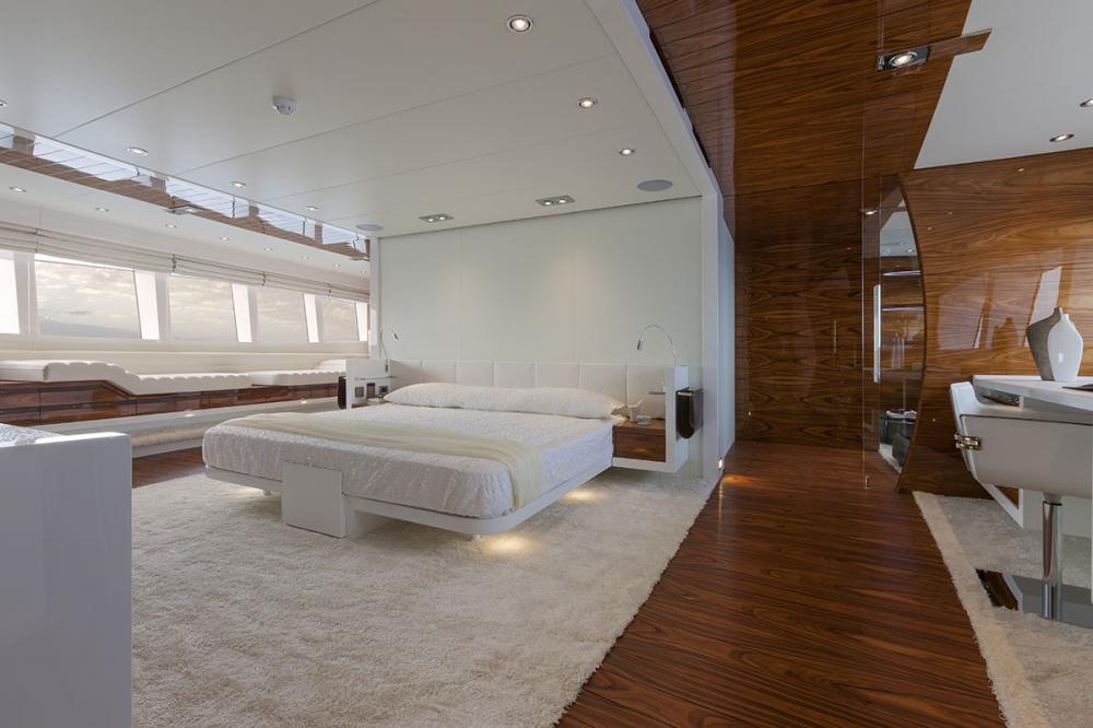 VULCAN 46M - Luxury Motor Yacht For Sale - Owner's Cabin - Img 4 | C&N