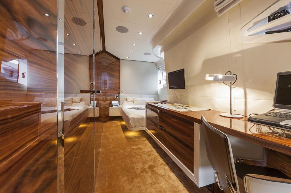 VULCAN 46M - Luxury Motor Yacht For Sale - Owner's Cabin - Img 2 | C&N