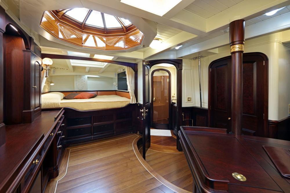 ASGARD - Luxury Sailing Yacht For Sale - Master Cabin - Img 1 | C&N