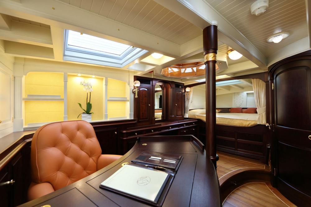 ASGARD - Luxury Sailing Yacht For Sale - Master Cabin - Img 2 | C&N