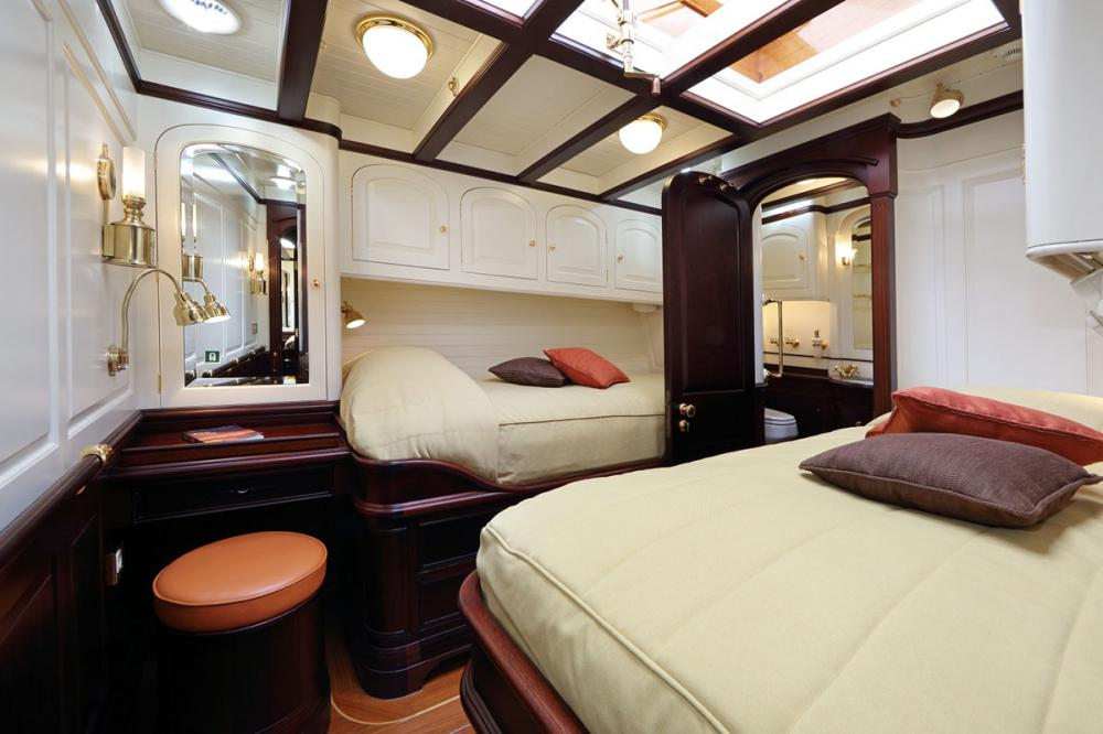 ASGARD - Luxury Sailing Yacht For Sale - 3 Guest Cabins Forward - Img 1 | C&N