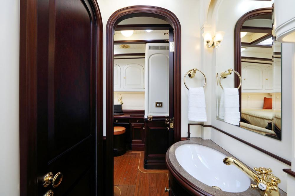 ASGARD - Luxury Sailing Yacht For Sale - 3 Guest Cabins Forward - Img 3 | C&N