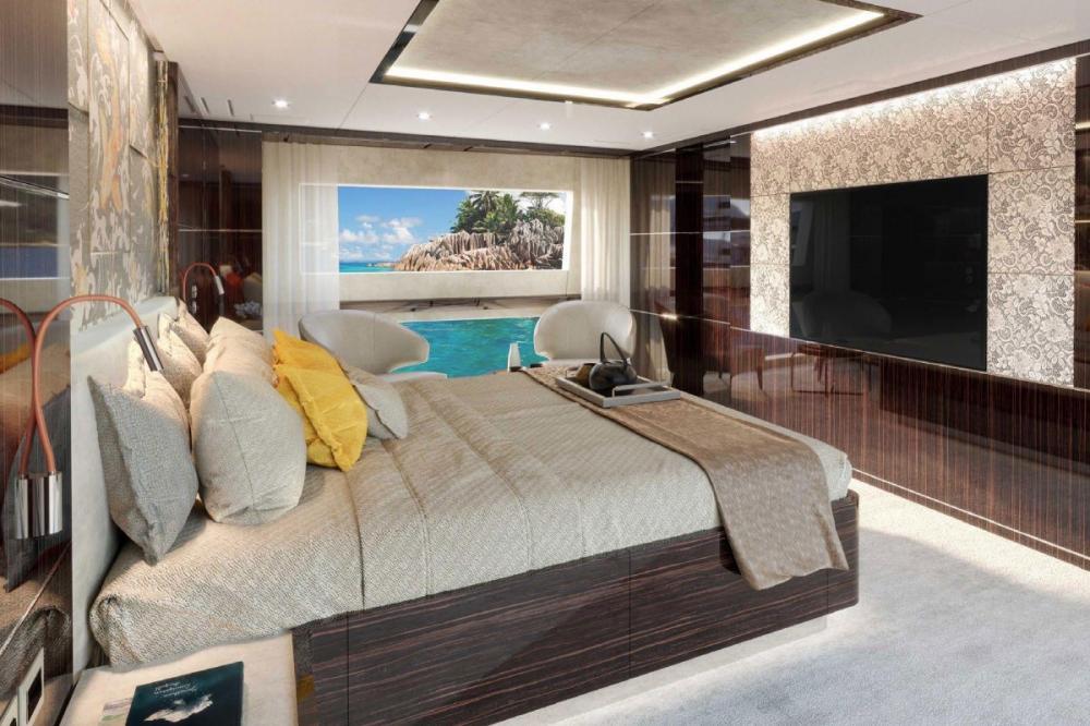 HAPPY ME - Luxury Motor Yacht For Charter - Full Beam Master Suite - Img 2 | C&N